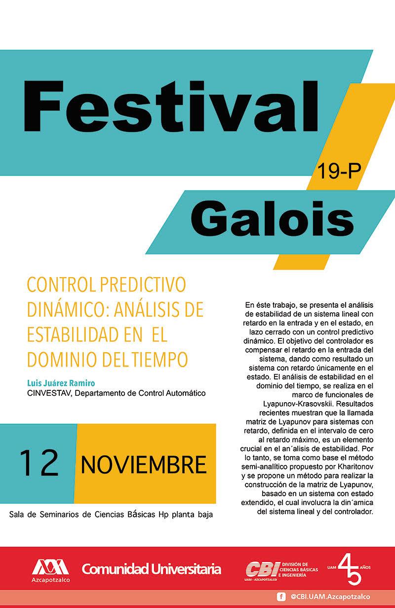 Festival Galois UAM Azcapotzalco